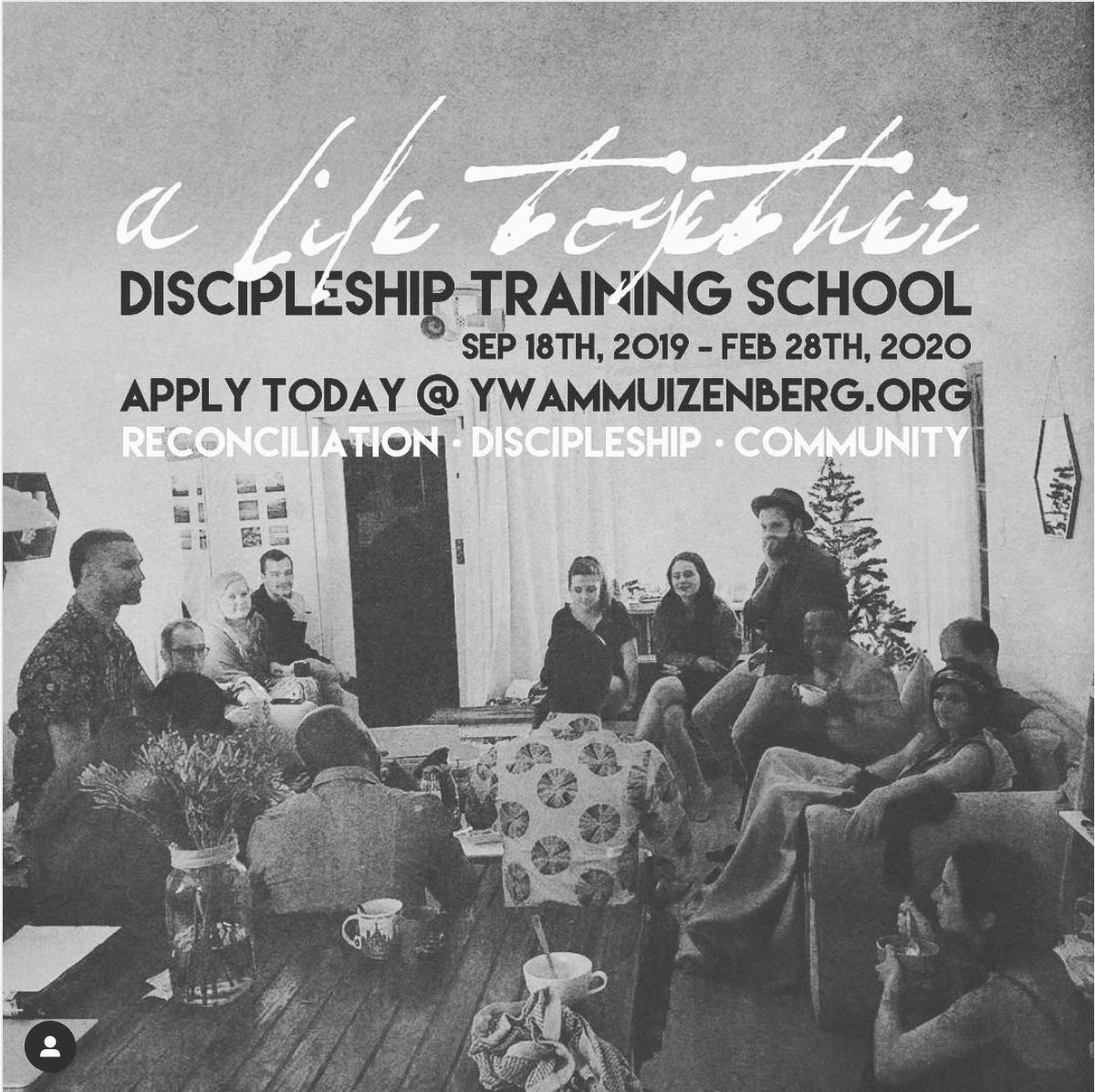 A life together DTS | YWAM Discipleship Training School